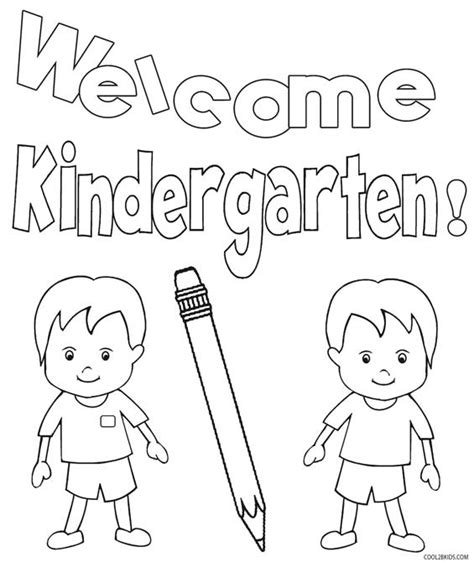 Printable Kindergarten Coloring Pages For Kids Cool2bkids Coloring Pictures For Kindergarten
