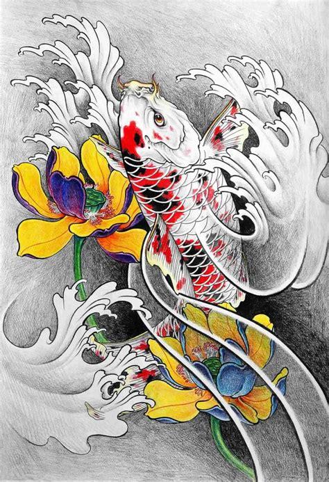 oriental tattoo books flash tattoo tattoo flash de aliang koi book en