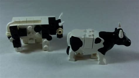 Lego Cow how to build lego cow moving legs