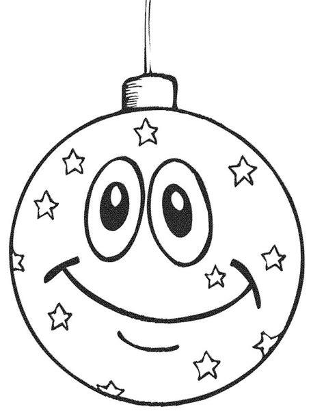 christmas balls coloring pages    print