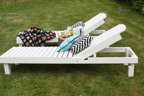 diy outdoor chaise lounge 13 projects for backyard relaxation the garden glove