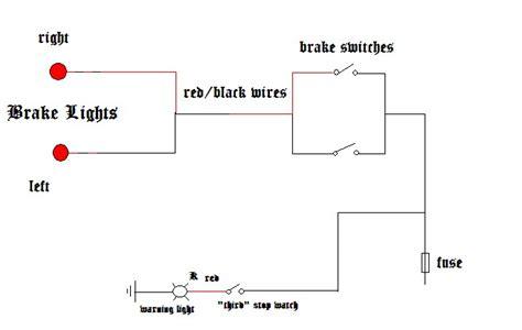 brake light schematic 28 images brake light for