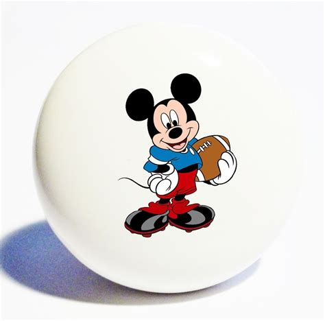 mickey mouse home decor ceramic knob drawer cabinet pull