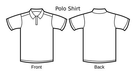 template images polo shirt template icons png free png and icons downloads