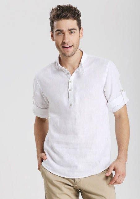 Kemeja Muslim Pria Branded Gkl 8903 13 model kemeja putih pria bikin til ganteng baju terbaru