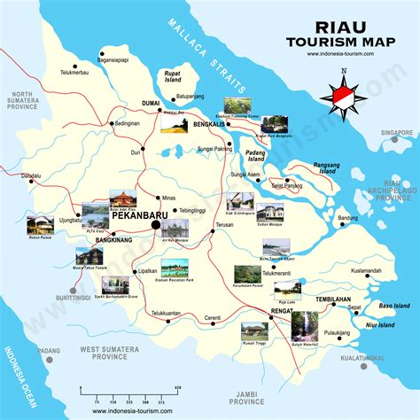 Peta Wisata Provinsi Kepulauan Bangka Belitung Kota Pangkalpinan H1051 riau pakning bertuah