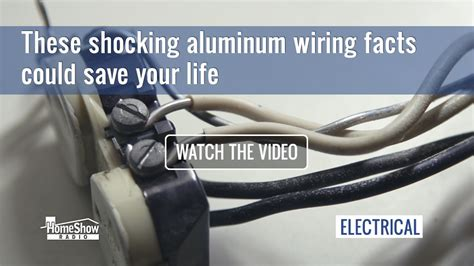 buy a house scheme aluminum wire life repair wiring scheme