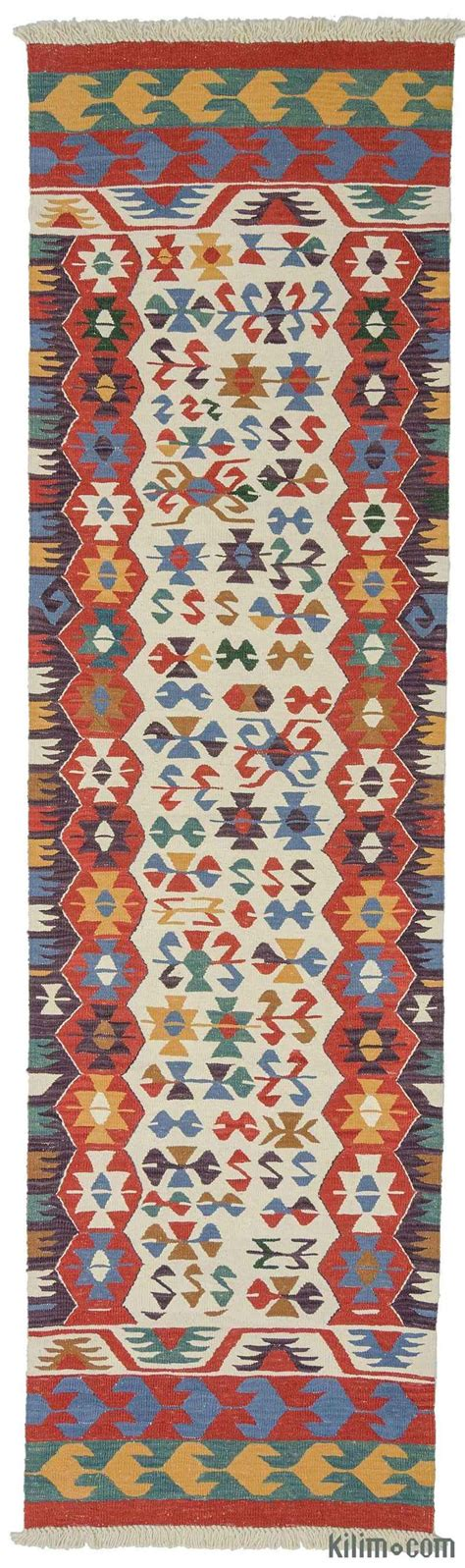 Kilim Runner Rug Sale by K0006426 Multicolor New Turkish Kilim Runner