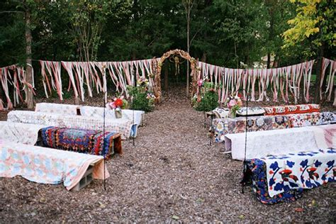 backyard wedding layout outdoor wedding seating alternative megan elijah