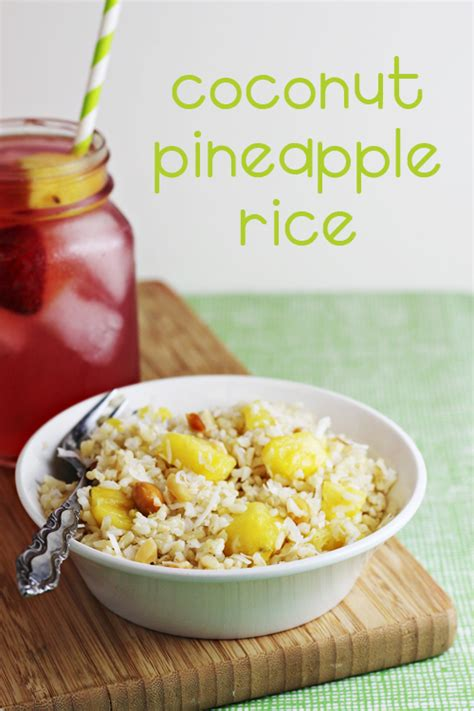 dish recipes easy easy side dishes coconut pineapple rice recipe home