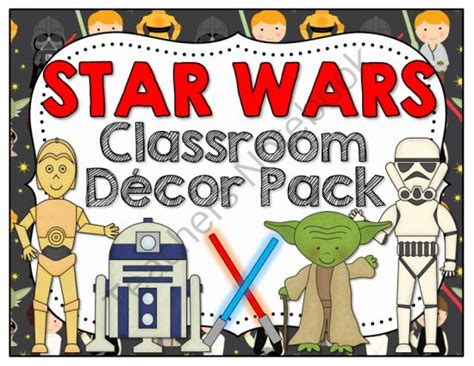 Wars Classroom Decorations by Wars Classroom Decor Pack From Barnard Island On