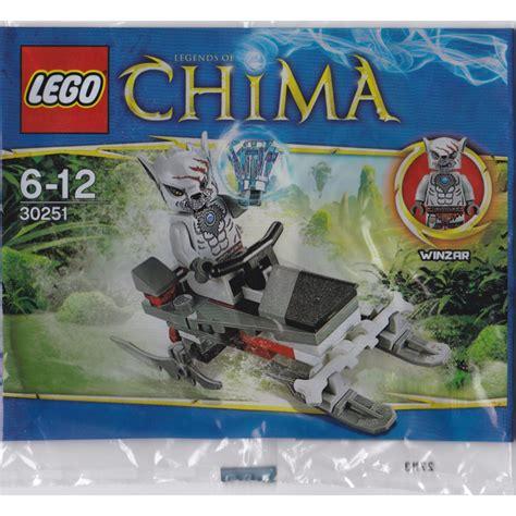 Lego Chima 30251 Winzar S Pack Patrol Polybag lego winzar s pack patrol set 30251 packaging brick owl lego marketplace