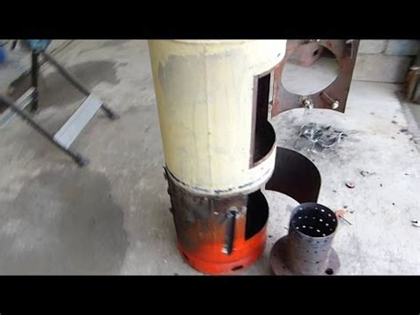 diy ozzirt waste oil heater ozzirt waste oil heater in wood stove how to make do
