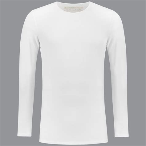 t shirts white crew neck longsleeve t shirt shirtsofcotton