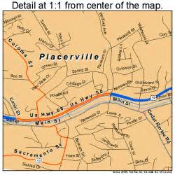 map of placerville ca