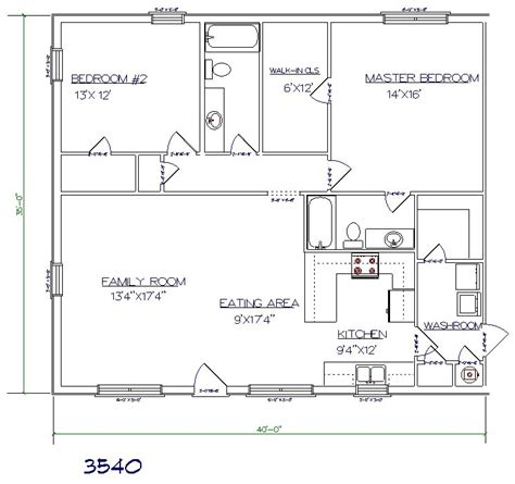 40 sq house plans 1400 sq ft house plans images