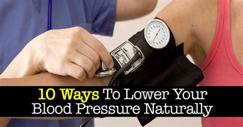 ways    blood pressure naturally