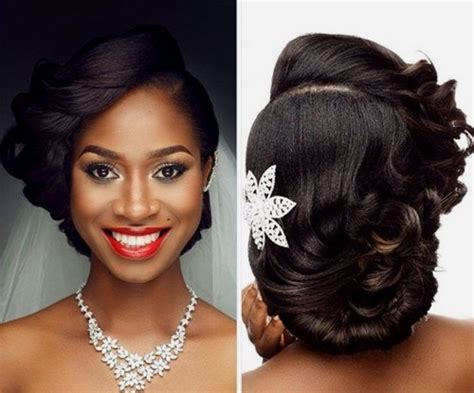 Black Wedding Hairstyles Pictures by 50 Superb Black Wedding Hairstyles