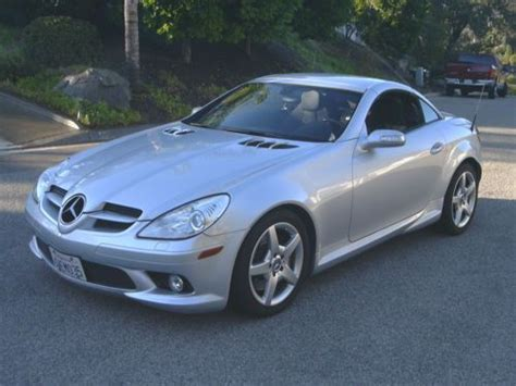 sell used 2005 mercedes slk350 convertible 3 5l