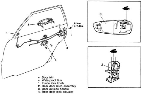 free download parts manuals 1995 mitsubishi galant seat position control repair guides interior door handle latch assembly autozone com