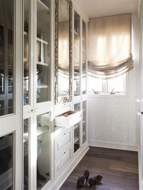 closet mirrored wallpaper dressing room dream photos lisa adams hgtv