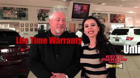 Keith Pierson Toyota Service Keith Pierson Toyota Lifetime Warranty