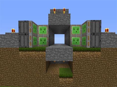secret door redstone minecraft project
