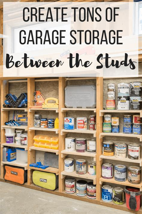 garage storage plans free