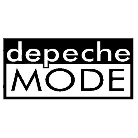 Auto Sticker Depeche Mode by Depeche Mode Band Vinyl Decal Stickers Prosportstickers