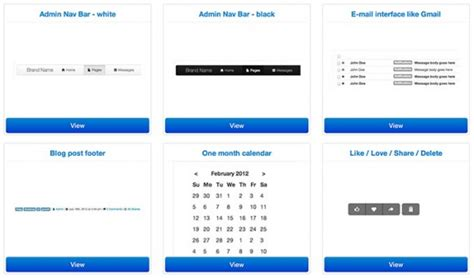 bootstrap layout snippets boot snipp css code snippets for bootstrap freebiesbug