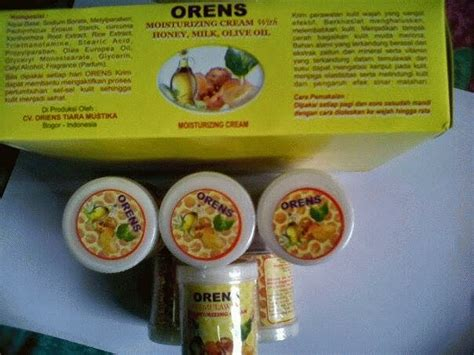 cream oriensorens temulawak moisturizing cream dempo
