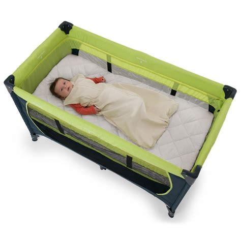 buy hauck bed me travel cot mattress sheet 120x60cm