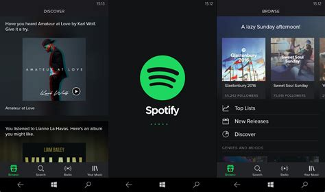spotify mobile player spotify for windows phone gets a new design mspoweruser