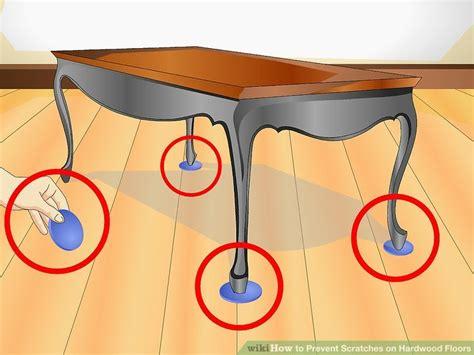 ways  prevent scratches  hardwood floors wikihow
