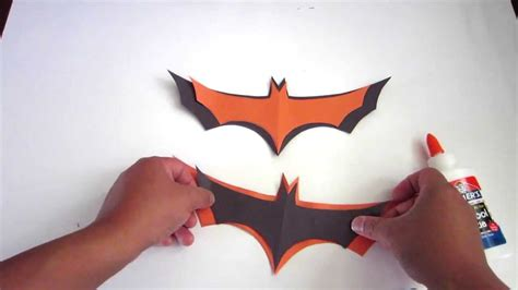 how to make easy bats out of paper lana3lw