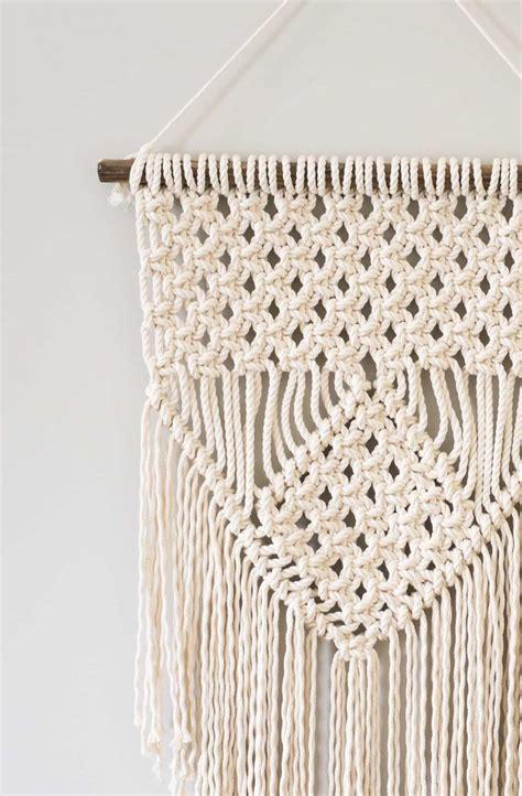 macrame how learn three macrame knots to create your wall