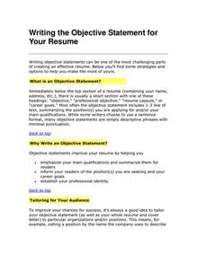 what is a resume objective resume objective statements berathen com examples of resumes best photos printable basic resume