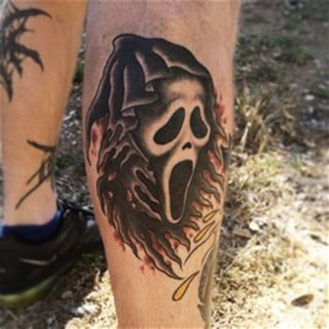 scream horror movie tattoos movie tattoos and tattoo