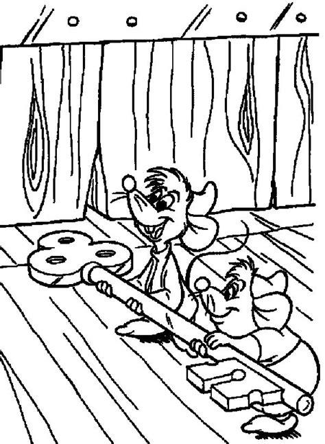 cinderella happy birthday coloring pages cinderella jaq and gus bring a lock cinderella coloring