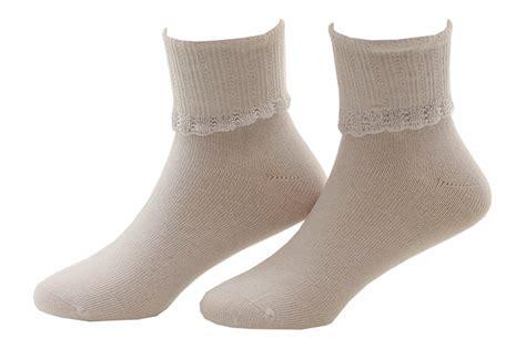 comfort seam socks stride rite girl s 2 pairs white glimmer comfort seam fold