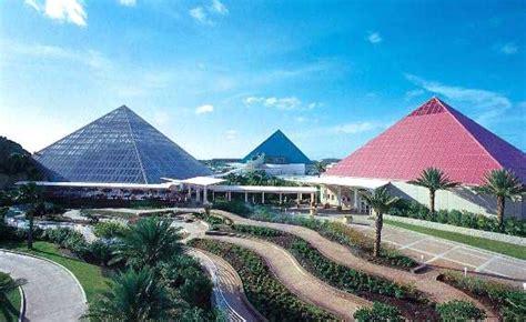 Moody Gardens Pyramids by Moody Gardens Galveston Travel Featured