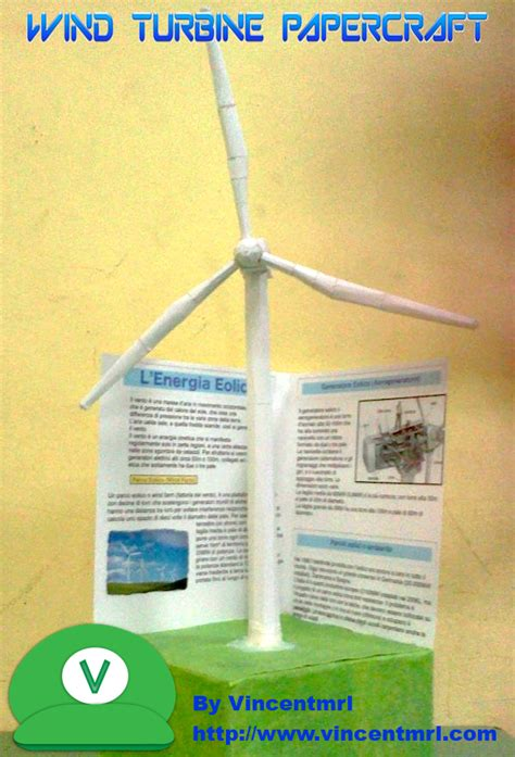 How To Make A Paper Wind Turbine - wind turbine papercraft by vincentmrl on deviantart