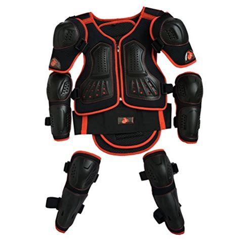 motocross bike security kids motorcycle armor suit dirt bike chest spine protector