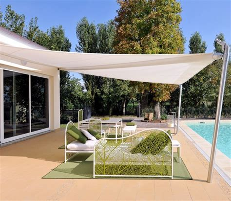 Patio Shade Sails Retractable Shade Sail Contemporary Patio Other By