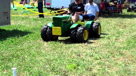 Articulated Garden Tractor by 2011 Lagc Extravaganza Articulated Tractors