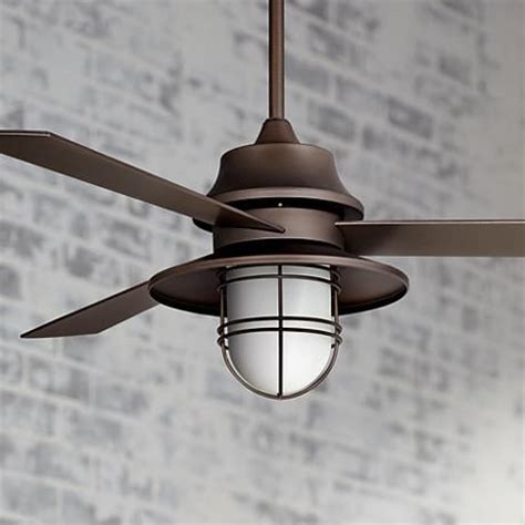 this handsome industrial style rubbed bronze ceiling