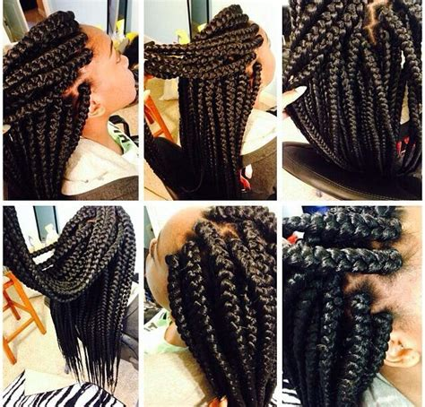 how to do jumbo box braids 78 best images about cute cornrow braids on pinterest