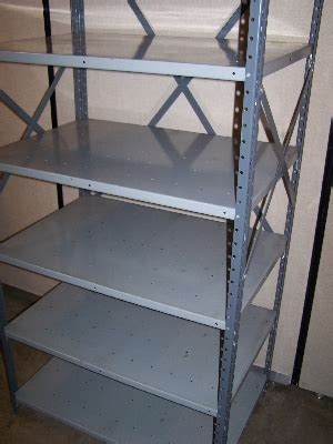 used steel shelving 24 quot x36 quot 7 republic steel shelving with 6 shelves used welter storage
