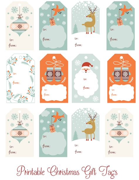 cute printable christmas gift tags thrifty mommas tips