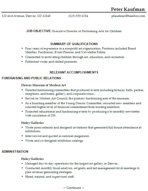 self employed resume template http www resumecareer